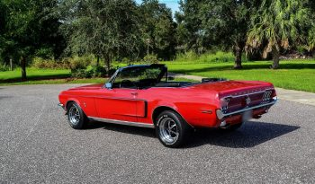 1968 Ford Mustang Convertible Red voll