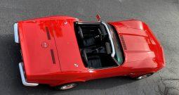 Chevrolet Corvette C3 BJ 1973 Cabrio Rot