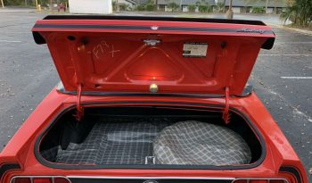 1973 Ford Mustang Cabrio Rot voll