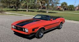 1973 Ford Mustang Cabrio Rot