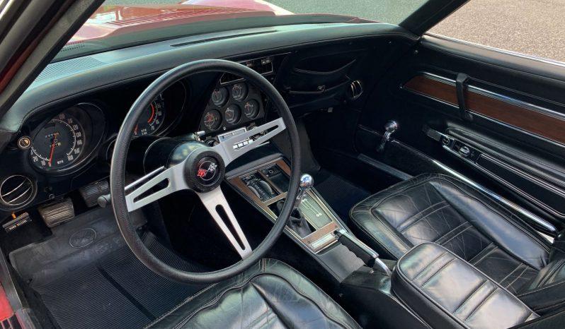 Chevrolet Corvette C3 BJ 1973 Cabrio Rot voll