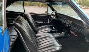 Chevrolet Chevelle BJ 1966 Blau/Schwarz voll