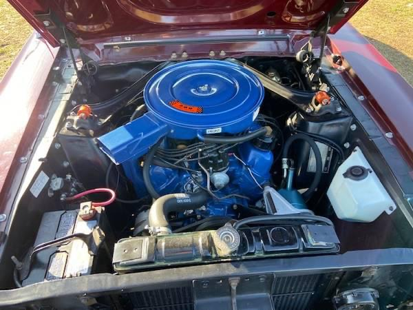 Ford Mustang Cabrio BJ 1968 Rot voll