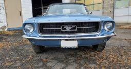 Ford Mustang Cabrio BJ 1967 Blau