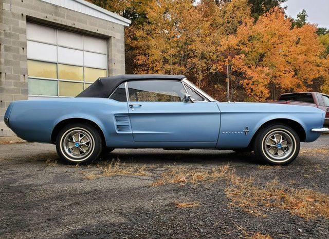Ford Mustang Cabrio BJ 1967 Blau voll