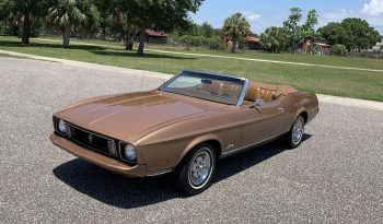 Ford Mustang Cabrio Gold BJ 1973 voll