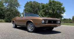Ford Mustang Cabrio Gold BJ 1973