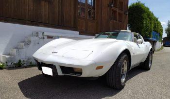Chevrolet Corvette C3 BJ 1979 weiss/beige voll