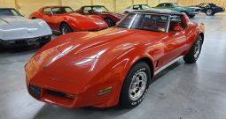 Chevrolet Corvete C3 BJ 1981 Rot/Rot