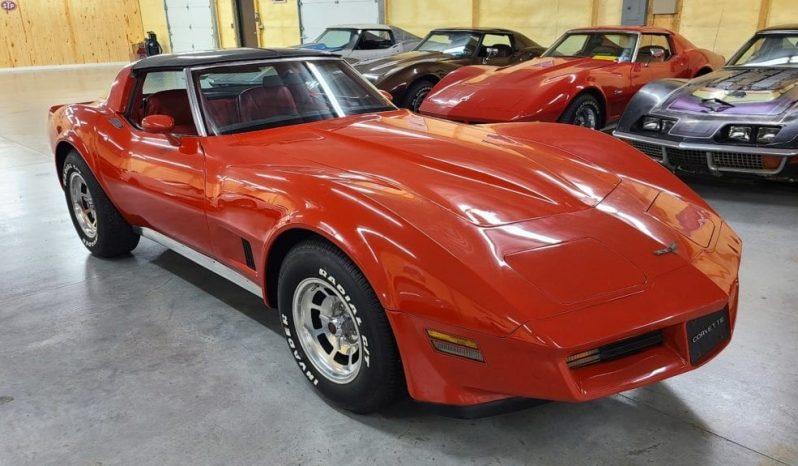 Chevrolet Corvete C3 BJ 1981 Rot/Rot voll