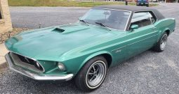 1969 Ford Mustang Grün