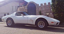 Chevrolet Corvette C3 BJ 1979 weiss/beige