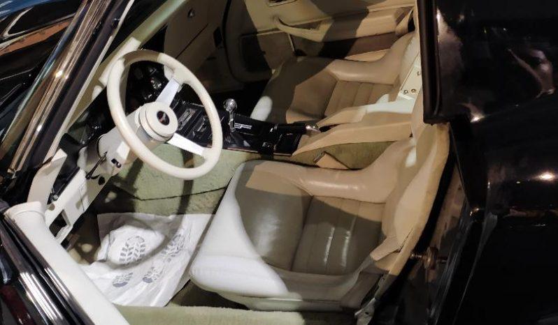 Chevrolet Corvette C3 BJ 1979 Schwarz/Weiss voll