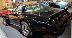 Chevrolet Corvette C3 BJ 1979 Schwarz/Weiss