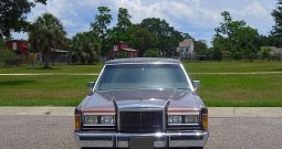 Lincoln Town Car Rot BJ 1989