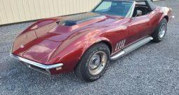 1968 Chevrolet Corvette Cabrio Burgundy Rot