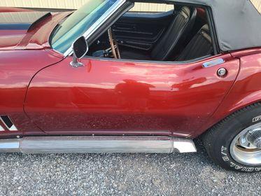 1968 Chevrolet Corvette Cabrio Burgundy Rot voll