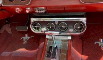 1966 Ford Mustang Cabrio Schwarz voll