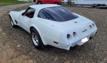 1978 Chevrolet Corvette C3 Weiß/Rot voll