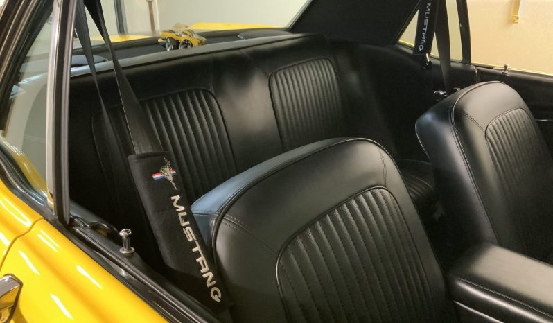 1968 Ford Mustang Gelb voll