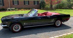 1966 Ford Mustang Cabrio Schwarz