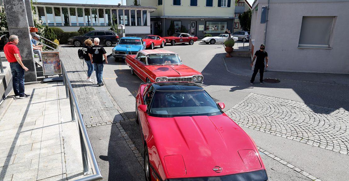 NR Classic Car Ausfahrt in die Schweiz